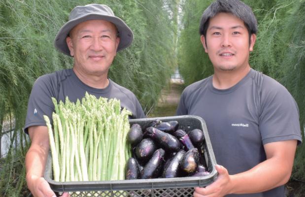 【加工業者・飲食店募集】<br>規格外の茄子・ほうれん草あります!